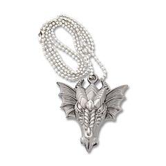 Neptune Trading Fantasy Dragon Head Necklace with Hidden Blade Model YC9003