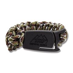 Outdoor Edge Para-Claw with Medium Camouflage Paracord Bracelet