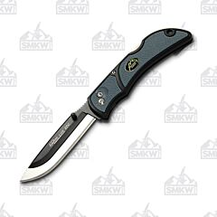 """Outdoor Edge Razor Lite Gray Folding Knife with Gray Grivory and TPR Handle with Satin Finish 420J2 Stainless Steel 3.5"""" Drop Point Blade Model RLY-150C"""