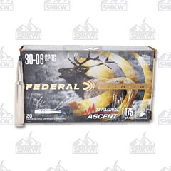 Federal Premium Terminal Ascent 30-06 Springfield 175 Grain 20 Rounds