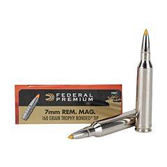 Federal Premium Vital-Shok 7mm 160 Grain Trophy Bonded Tip 20 Rounds