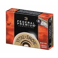 """Federal Vital-Shok Truball 20 Gauge 2.75"""" 3/4oz Rifled Slug 5 Rounds"""