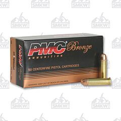 PMC Ammunition Bronze 38 Special 132 Grain Full Metal Jacket 50 Rounds