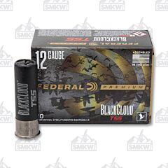 "Federal Premium 12 Gauge 3"" 1-14 oz  Black Cloud TSS  FlightStopper Steel and Tungsten Super Shot 10 Rounds"