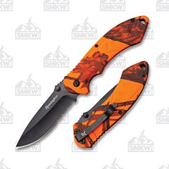 Remington F.A.S.T. 2.0 Large Folder Orange Mossy Oak Handle
