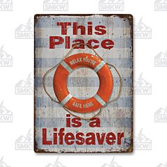 Lifesaver Tin Sign