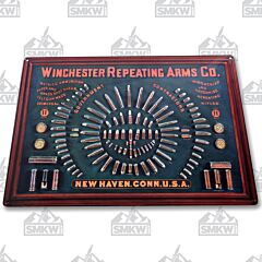 Rivers Edge Winchester Repeating Arms Co Tin Sign