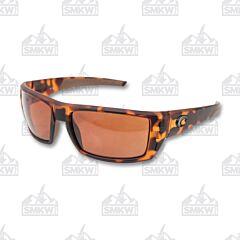 Costa Del Mar Rafael Sunglasses with Retro Tortoise Plastic Frame and 580P