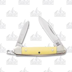Rough Ryder Yellow Keychain Mini Canoe