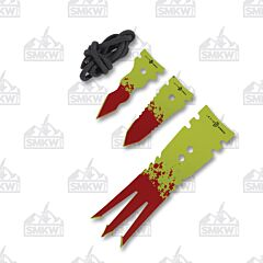 Rough Ryder Zombie Nick Undead Heads Survival Set