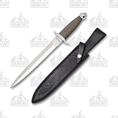Rough Ryder Silver Soldier Boot Knife