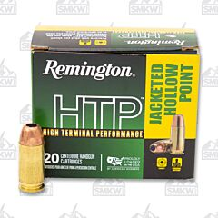 Remington HTP Ammo 45 Auto 185 Grain JHP 20 Rounds