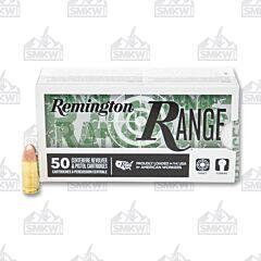 Remington Range 9mm Luger 115 Grain Full Metal Jacket 1145 fps 50 Rounds