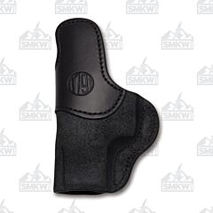 1791 Gunleather Stealth Black Open Top Right Hand J Frame Revolver OWB Holster Size 1