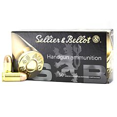 Sellier & Bellot 45 ACP 230 Grain Full Metal Jacket 50 Rounds