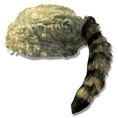 Coonskin Cap Small