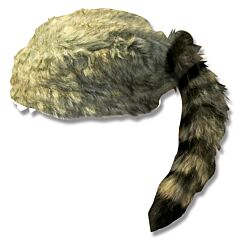 Coonskin Cap Large
