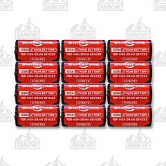 Surefire Batteries 123A 12 Pack