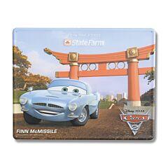 Disney Pixar Cars 2 Finn McMissle Tin Sign