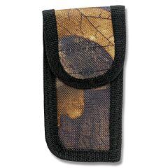 "Camouflage Nylon Sheath fits Folding Knives up to 3"" Closed"