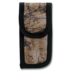 "Camouflage Nylon Sheath fits Folding Knives up to 4"" Closed"