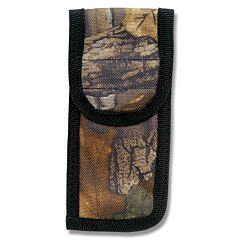 "Camouflage Nylon Sheath fits Folding Knives up to 5"" Closed"