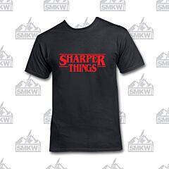 SMKW Sharper Things Black T-Shirt