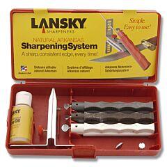 Lansky Natural Arkansas Sharpening System
