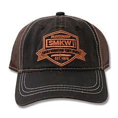 SMKW LiveSharp Brown Mesh Back Hat Model SMK4079952