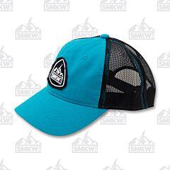 SMKW Logo Hat Black and Teal