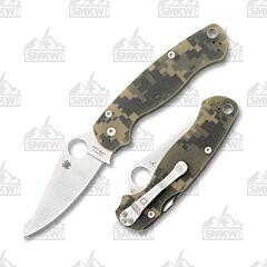 Spyderco Paramilitary 2 CPM-S30V Stainless Steel Blade Digi Camo G-10 Handle
