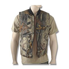 Camo Reversible Hunting Vest - S