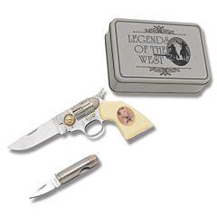 Old West Pistol Knife Set - Jesse James