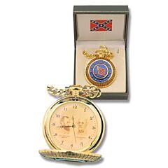 Sigma Impex Confederate Generals Pocketwatch - Jackson & Lee