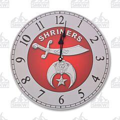 Sigma Shriner Wall Clock