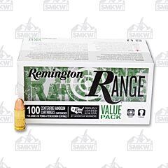 Remington Range Ammo 9mm Luger 115 Grain Full Metal Jacket 100 Rounds