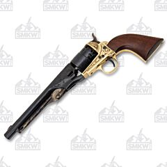 Traditions Performance Firearms 1860 Army Engraved Black Powder Revolver .44 Cal Blued FR186012