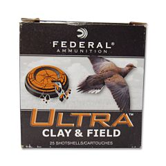 Federal Ultra Clay and Field 20 Gauge 1oz 7-1/2 Shot 25 Rounds