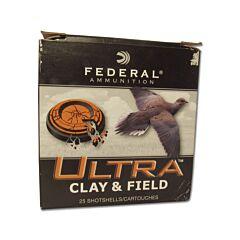 "Federal Ultra Clay 20 Gauge 1oz 2.75"" #8 Shellshot 25 Rounds"