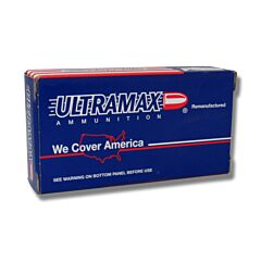 Ultramax Re-manufactured 380 ACP 115 Grain Lead Round Nose 50 Rounds