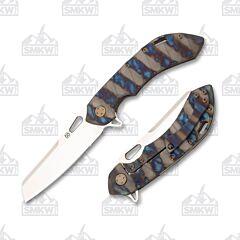 Olamic Cutlery Wayfarer 247 Sheepscliffe Scalloped Flame Color Finish Satin 225S