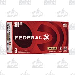 Federal Champion Ammo 380 Auto 95 Grain Full Metal Jacket 50 Rounds