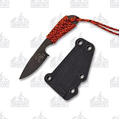 White River M1 Backpacker S30V Stainless Steel Blade S30V Stainless Steel Orange Paracord Wrapped Handle Kydex Sheath