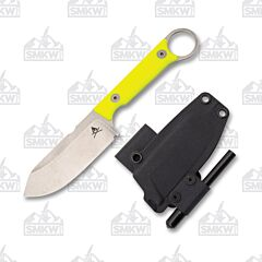 White River Knives Firecraft 3.5 Pro High Visibility G-10