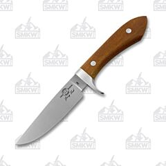 White River Sendero Classic CPM-S35VN Stainless Steel Blade Natural Canvas Micarta Handle