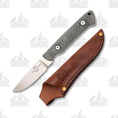 White River Knives Gray Small Game S35VN Blade Micarta Handle