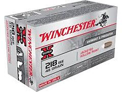Winchester Super-X 218 Bee 46 Grain Jacketed Hollow Point 50 Rounds