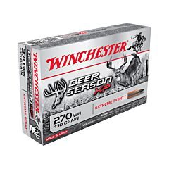 Winchester Deer Season XP 270 Winchester 130 Grain Extreme Point Polymer Tip 20 Rounds