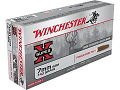 Winchester Super-X 7mm Winchester Short Magnum 140 Grain Hollow Point Lead Free 20 Rounds