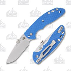 Hinderer XM Slippy Slicer with Blue G-10 Handle and Stonewash CPM20CV Stainless Steel Blade